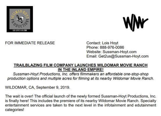 Initial Press Release