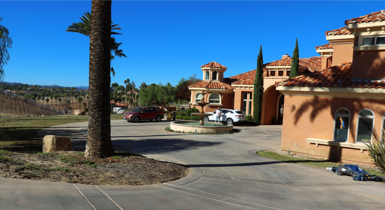 temecula wine country mansion